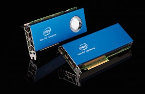 Photo of the Intel Xeon Phi 5110P PCI-Express Coprocessor card