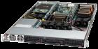 NumberSmasher 1U GPU Server (1 CPU)