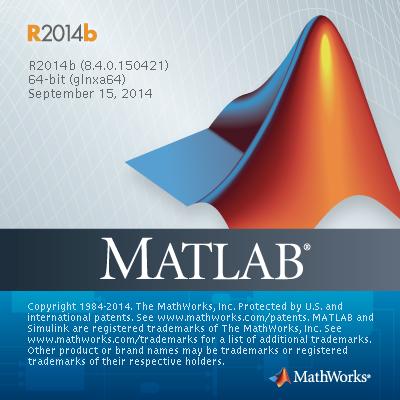 Mathworks MATLAB R2014b splashscreen
