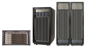Photograph of Microway HPC clusters of various sizes and configurations