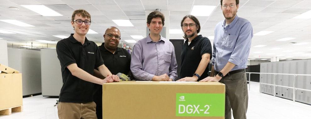 DGX-2 Delivery at ORNL
