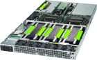 NumberSmasher 1U GPU Server (4 GPUs)