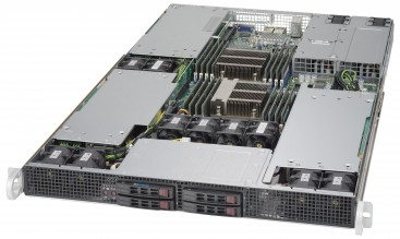NumberSmasher 1U Tesla GPU Server- 1029GP-TR
