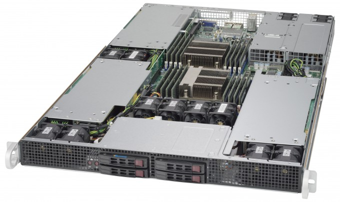 NumberSmasher 1U Tesla GPU Server- 1029GR-TR