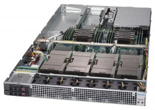 NumberSmasher 1U Tesla GPU Server with NVLink- 1029GQ-TVRT