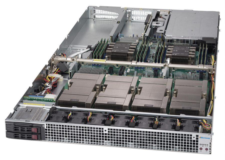 NumberSmasher 1U Tesla GPU Server with NVLink- 1029GQ-TVRT
