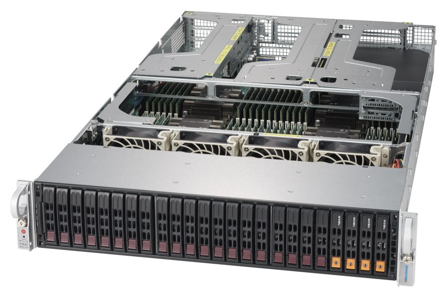 NumberSmasher 2U QuadPuter 4P Xeon Server
