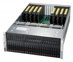 Microway Octoputer 10-GPU  Server with Single Root Complex