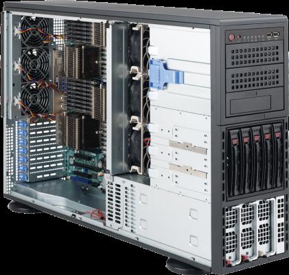 Navion 4U Quadputer 4P Opteron Server