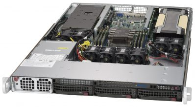 NumberSmasher 1U GPU Server (1 CPU) - Supermicro 5019GP-TT