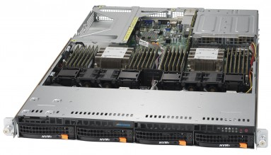 NumberSmasher 1U HPC Server - 6019U-TR