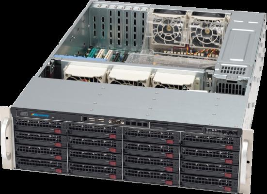 NumberSmasher 3U Storage Server Chassis - Supermicro SC836A-R1200B