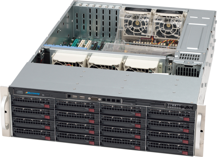 NumberSmasher 3U Storage Server Chassis - Supermicro SC836A-R1200B
