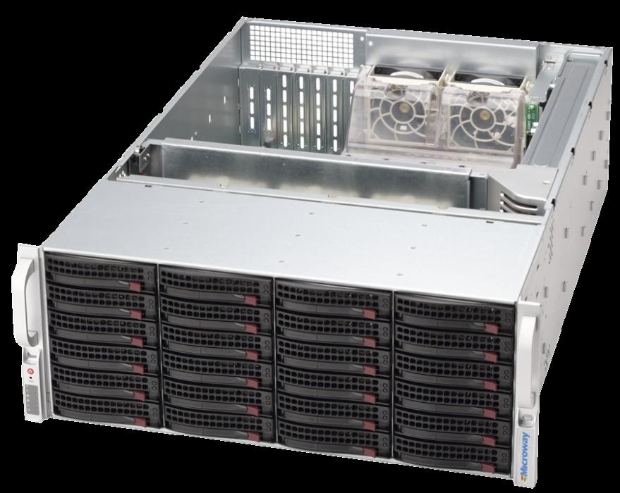NumberSmasher 4U 2P Xeon HPC + Storage Server