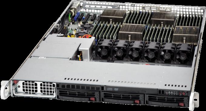 Navion 1U Quadputer 4P Server