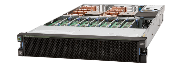 Photo of the IBM Power Systems S822LC for HPC with NVLink