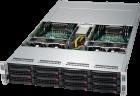 Microway 2U Xeon Phi Server (Twin design with four servers in 2U)