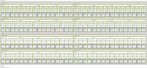 Diagram depicting the CPU cores, cache, and memory in the NVIDIA DGX A100