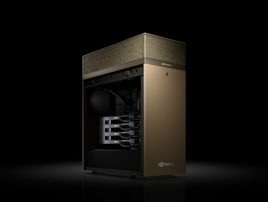 Photo of the NVIDIA DGX Station - Deep Learning Workstation