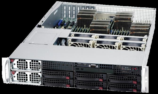 Navion 2U Quadputer 4P Server